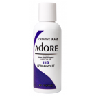 Adore: Semi Permanent Hair Colour Dye - African Violet 113
