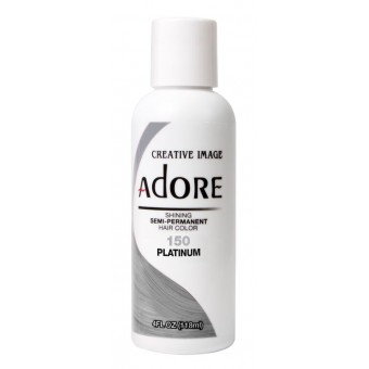 Adore: Semi Permanent Hair Colour - Platinum 150