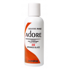 Adore: Semi Permanent Hair Colour Dye - Orange Blaze 39
