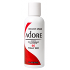 Adore: Semi Permanent Hair Colour Dye - Truly Red 60