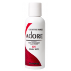 Adore: Semi Permanent Hair Colour Dye - Ruby Red 64