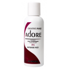Adore: Semi Permanent Hair Colour Dye - Intense Red 71