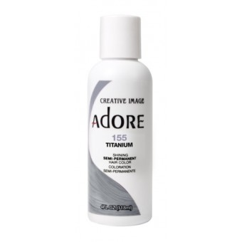 Adore: Semi Permanent Hair Colour Dye - Titanium 155