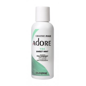 Adore: Semi Permanent Hair Colour Dye - Sweet Mint 194