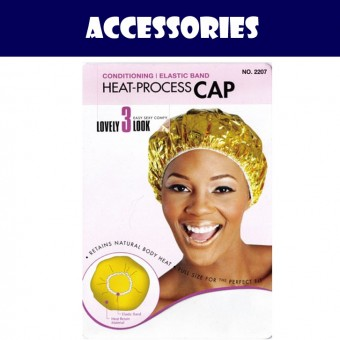 Conditioning Heat Process Cap - Gold