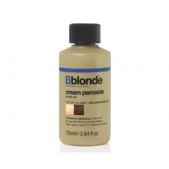 Bblonde cream peroxide for light to medium brown hair