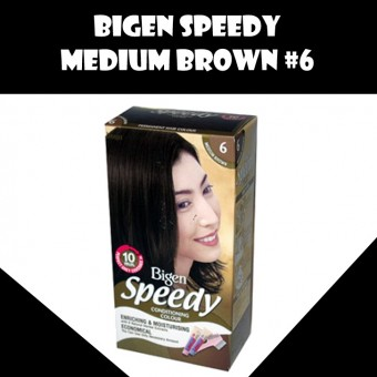 Bigen Speedy - Medium Brown 6