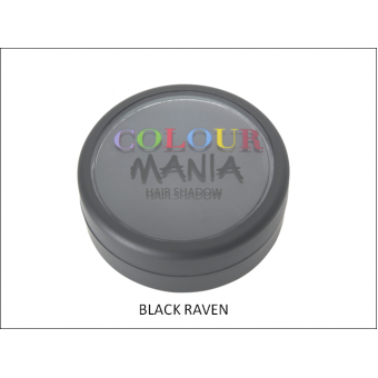 Colour Mania: Hair Shadow - Black Raven