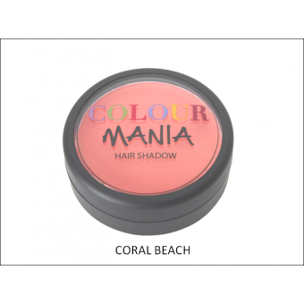 Colour Mania: Hair Shadow - Coral Beach