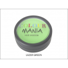 Colour Mania: Hair Shadow - Lazer Green