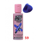 Crazy Color Conditioning Hair Colour Cream 100ml - Sky Blue 59
