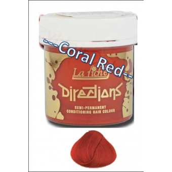 Directions: Hair Colour - Coral Red 88ml