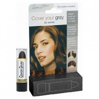 Irene Gari: Cover Your Gray Lipstick - Black