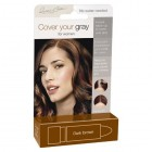 Irene Gari: Cover Your Gray Lipstick - Dark Brown
