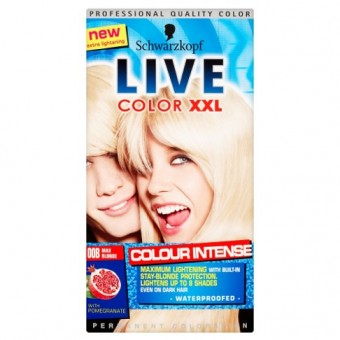 Live Colour XXL: Colour Intense - Max Blonde 00B