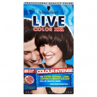 Live Colour XXL: Colour Intense - Bitter Sweet Chocolate 89