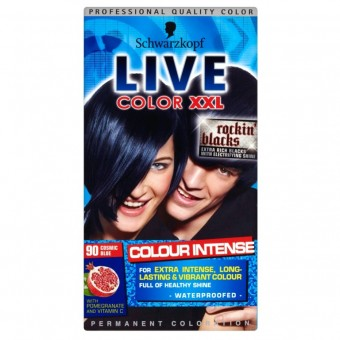 Live Colour XXL: Colour Intense - Cosmic Blue 90