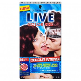 Live Colour XXL: Colour Intense - Electro Red 96