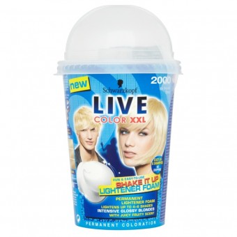 Live Colour XXL: Shake It Up Foam - Ice Blonde Blast 2000