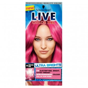 Live Color XXL: Ultra Brights Shocking Pink 93