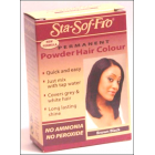 Sta Sof Fro Powder Dye Brown Black 6g