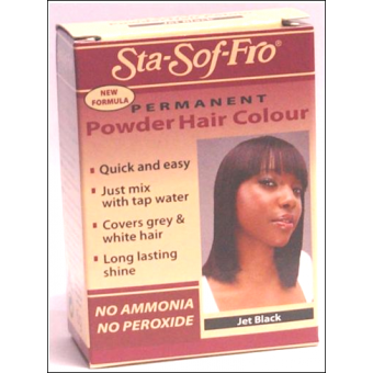 Sta Sof Fro Powder Dye Jet Black 6g